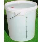 Емкость для брожения 25Л с отверстием в крышке для гидрозатвора.