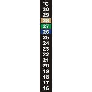 Термометр кристаллический (наклеивающийся)